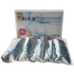 Травяной антибактериальный гель Тяньши, в коробке 5 шприцев в герметичной упаковке. Цена за коробку.