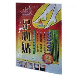 Китайский пластырь для стоп, для выведения токсинов с антиоксидантами YE YE TIAN, сашет 2 пластины.