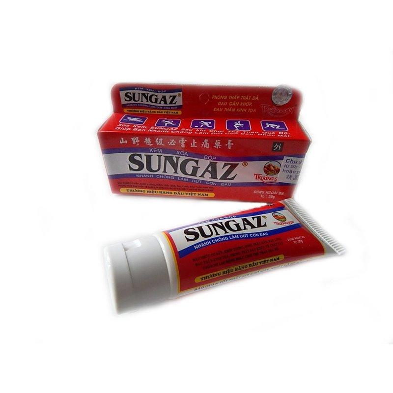 Мазь обезболивающая Sungaz Сангаз, большая упаковка-туба 65 гр.