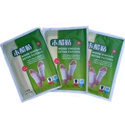 Пластырь Wood Vinegar Detox, для выведения токсинов, сашет 2 пластины.