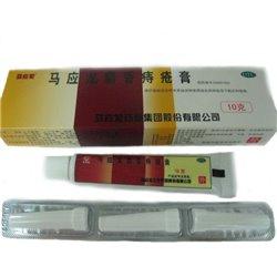 Эффективный крем от внутреннего геморроя и трещин прямой кишки с насадками, туба 10 гр. +3 насадки
