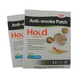 Антиникотиновый пластырь Anti-smoke Patch, коробка 30 наклеек.