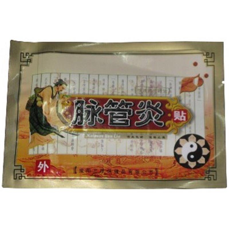 Пластырь для лечение варикоза вен Сань Лэ в сашете 1 пластина.