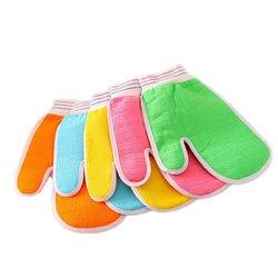 Мочалка-скраб для мытья без мыла, 21.5х15 см.