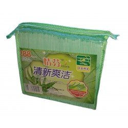 Гигиенические антибактериальные прокладки с Алоэ на травах, упаковка 288 шт. Цена за упаковку.