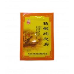 Китайский пластырь широкого спектра Jingzhi Goupi «СОБАЧЬЯ КОЖА», уп 4 пластины.