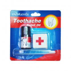 Тайское масло при зубной боли Скорая помощь, уп. 3 мл.