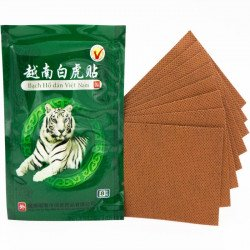 Пластырь обезболивающий «Белый Тигр», уп. 8 пластин.