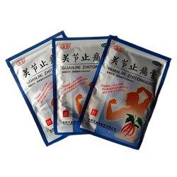 Китайский пластырь перцовый противовоспалительный Zhitong Gao, (2 шт/уп.)