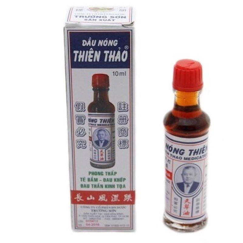 """Разогревающее масло для натирания """"Чыонг шон"""" , бут. 10 гр."""